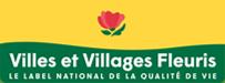 Village fleuris  une fleur